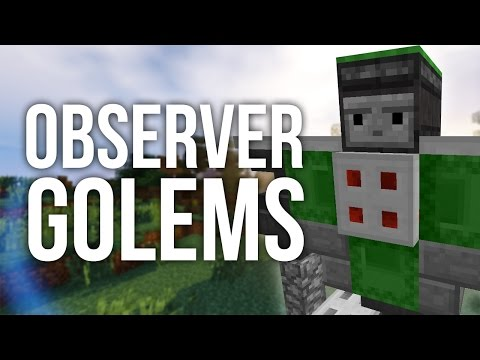 How to Build an Observer Guardian in Minecraft w/ Special Guest