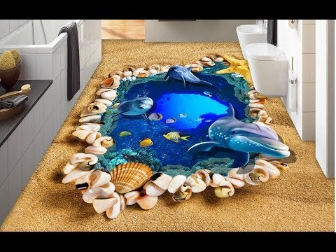 Install 3D Flooring In Your Room