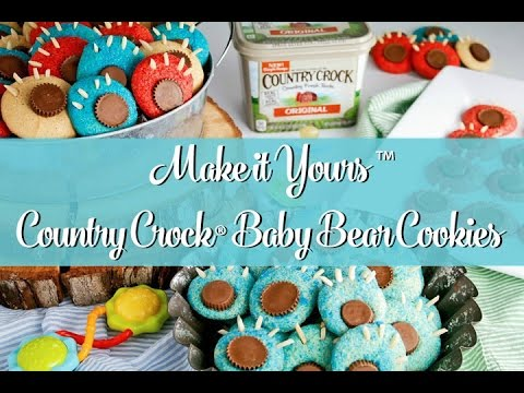 Country Crock® Make It Yours™ with Mix Ins Recipe Baby Bear Cookies