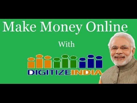 How to Earn Money at Home Through Mobile With Modi Plan Digital India