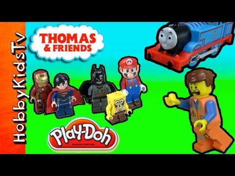 Where is Emmet? Thomas The Train and LEGO Batman Adventure