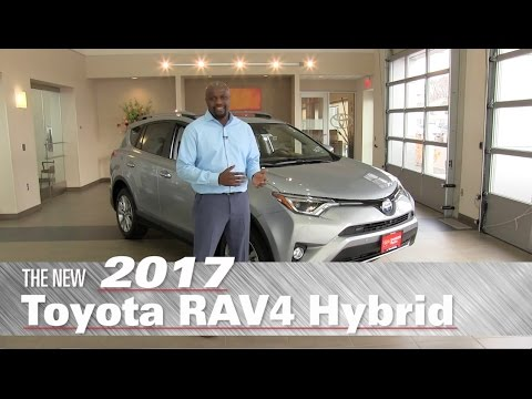 The New 2017 Toyota Rav4 Hybrid Limited - Minneapolis, St Paul, Brooklyn Center, MN - Review