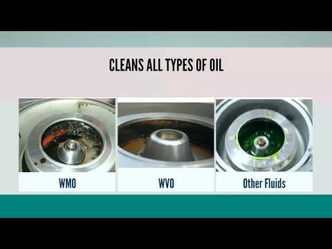 The Oil Cleaning Centrifuge - Cleans WVO, WMO and More
