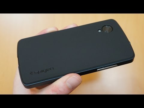 Spigen Neo Hybrid Google Nexus 5 Case Review - Slate
