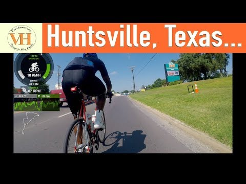 Group Ride Cycling 5182018 - Huntsville, Texas