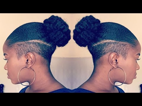Back to my Shaved Sides?!? Undercut?!? + Hair Update!!!|Mona B.