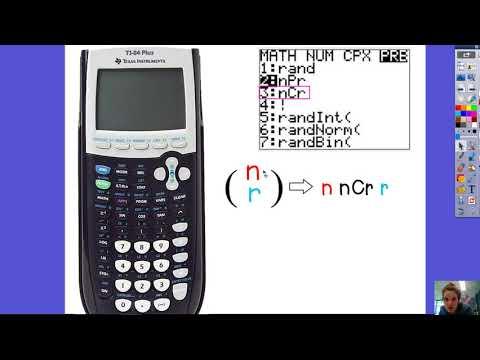 13.2 Combinations in Calculator