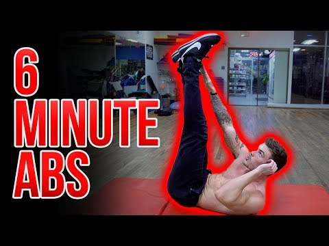 6 Minute Ab Blasting Workout (GET RIPPED ABS!)