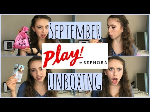 September SEPHORA PLAY Unboxing!