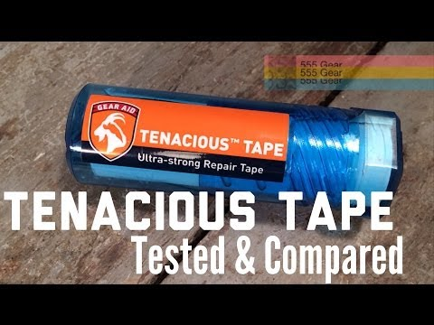 Review: Tenacious Tape by Gear Aid