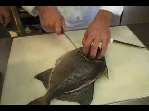 Cleaning & Preparing Triggerfish