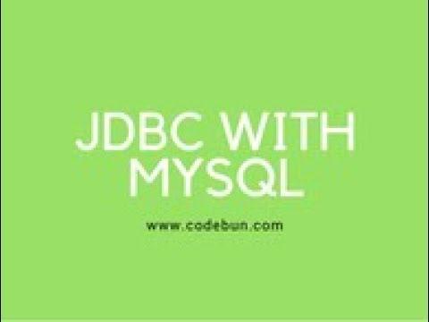 JDBC Tutorial || Java Database connectivity using Mysql and Servelt (insert data) using Eclipse