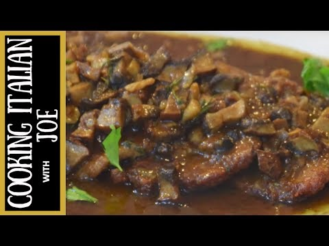 How to Make Veal Marsala Cooking Italian with Joe