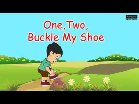 One Two Buckle My Shoe Poem  Video Dailymotion