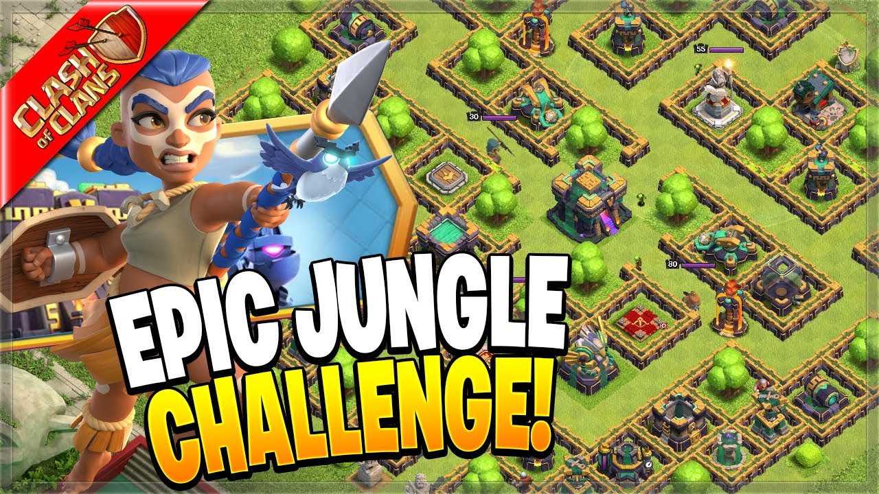 How to Beat the EPIC JUNGLE CHALLENGE (Clash of Clans)