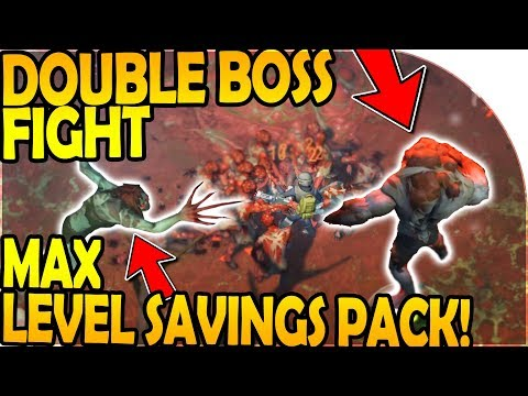 DOUBLE BOSS FIGHT! - MAX LEVEL SAVINGS PACK - Last Day On Earth Survival Update 1.8.5