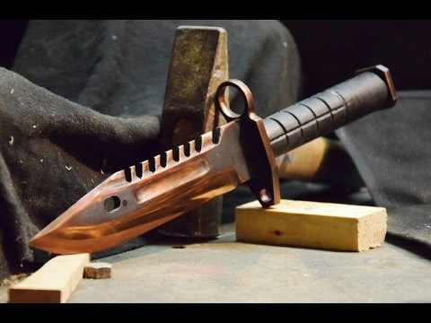M9 Bayonet CS:GO - Knife Making