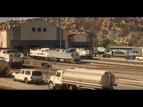 A Ride on Amtraks Pacific Surfliner:  LA to Santa Barbara!