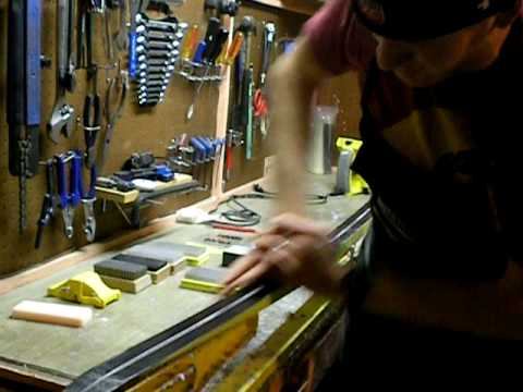How To Apply Pure Fluro Wax to your Cross Country Skis