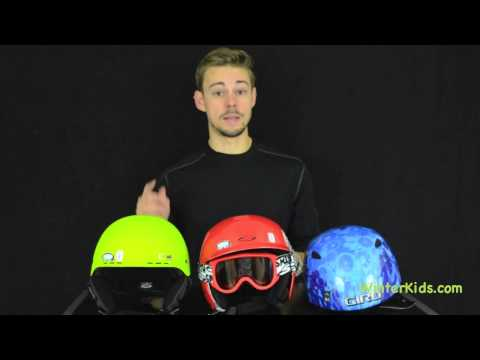 Kids Ski and Snowboard Helmets - Sizing and Fit