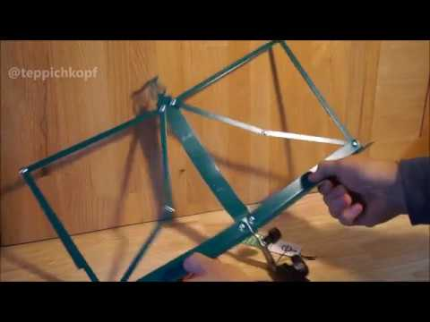 Konig & Meyer 100 /1 Music Stand unboxing and setup