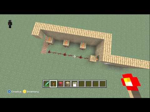Minecraft Xbox Edition: Redstone Torch Key Tutorial