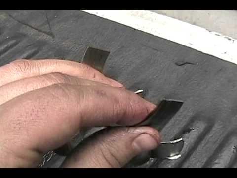 What is a spun rod bearing