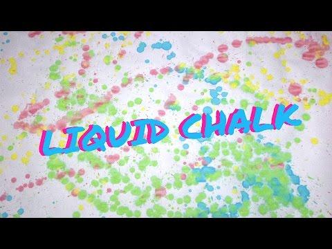 Liquid Chalk - DIY Sidewalk Chalk Paint