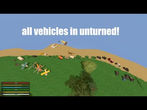 ALL VEHICLE ID CODES IN UNTURNED 3.15.8.0!!!