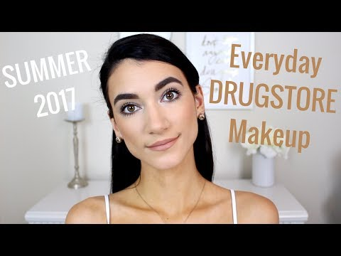 Natural, Simple, Everyday Drugstore Makeup Routine 2017