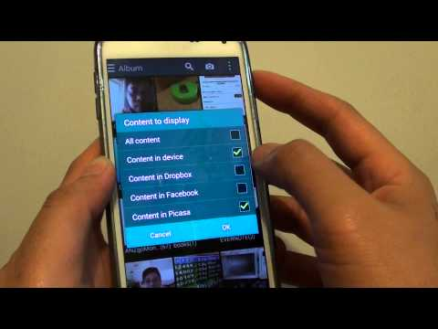 Samsung Galaxy S5: How to Enable / Disble Dropbox Photos in Gallery App