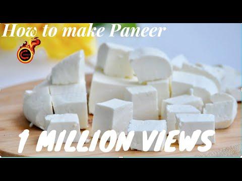 എളുപ്പത്തിൽ പനീർ എങ്ങിനെ ഉണ്ടാക്കാം ?? Perfect Homemade Paneer || Indian Cottage Cheese ||Ep:385