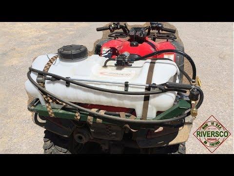 DIY Boomless ATV Sprayer