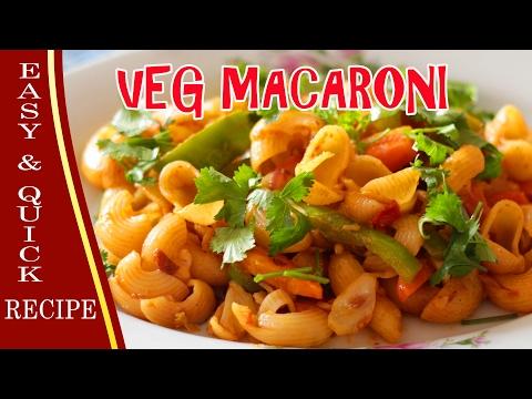 Veg Macaroni Recipe || Step by Step Tutorial || Anyone can make at Home