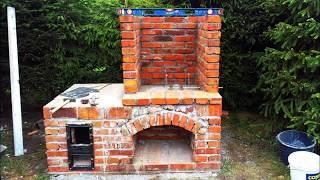 Budowa wędzarni z cegieł