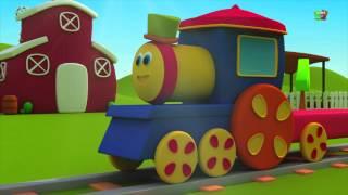Bob , il treno   è andato alla fattoria   vecchio mac donald   animale canzone suono