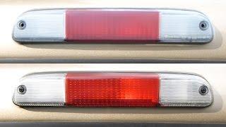 THIRD BRAKE LIGHT FLASHER INSTALLATION | MR2 SPYDER - PakVim net HD