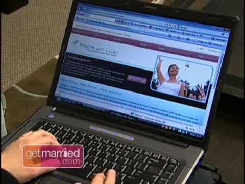MissNowMrs.com How to change from your maiden name to your married name.