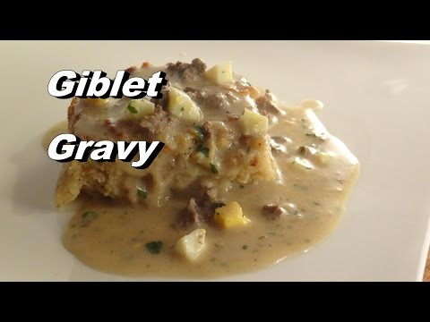 Southern Giblet Gravy Recipe - It's Just Not Thanksgiving Without It! :)