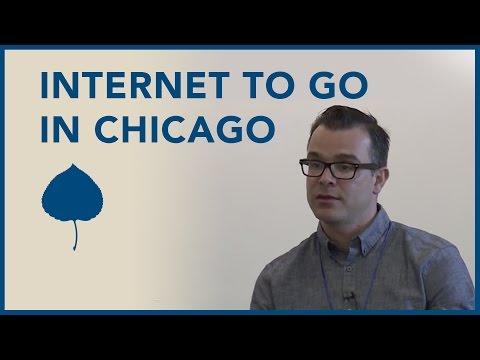 Chicago Public Library's Internet To Go Program - Brian Bannon