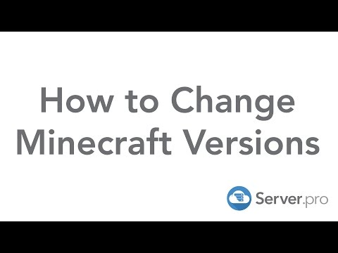How to Change Minecraft Versions in the new Launcher - Server.pro