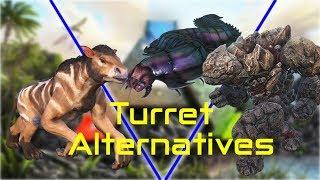 Arthropleura TURRET TESTING - Ranged Turret Mode - ARK:Survival