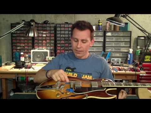 Archtop Guitar String Change Tip - Billy Penn 300guitars