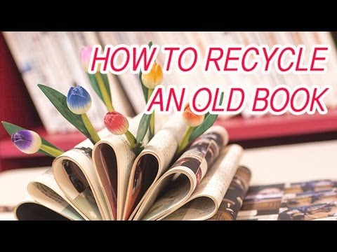 DIY - How to turn an old book into a decoration! - The Super Effect