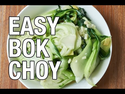 An Easy Bok Choy Recipe | Belly on a Budget | Episode 9