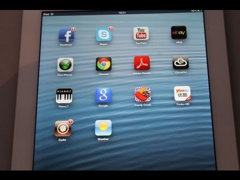 Untethered Evasi0n 6.1 Jailbreak IPhone 5,IPAD 4th gen,IPad mini,IOS 6.0.1, 6.1.1