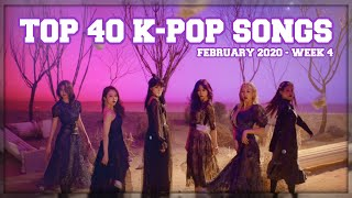TOP 40 K Ville Staff39s K pop Songs Chart February 2020 Week 4