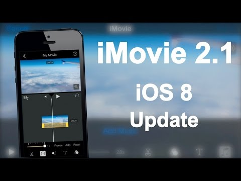 iMovie 2.1 Update for iOS 8 - New Features Overview