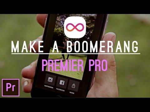 PREMIER PRO TUTORIAL : MEMBUAT VIDEO BOOMERANG