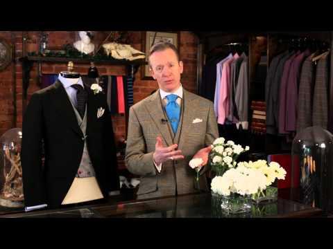 Etiquette for Wedding Buttonholes : Fashionable Men